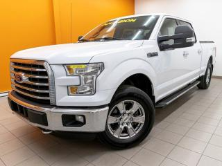 Used 2016 Ford F-150 XLT CREW 4X4 CAMÉRA GR. REMORQUAGE *BAS KM* for sale in Mirabel, QC
