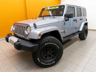 Used 2014 Jeep Wrangler SAHARA 4X4 BLUETOOTH SIÈGES CHAUFFANTS *NAV* for sale in Mirabel, QC