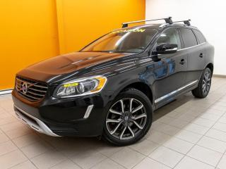 Used 2017 Volvo XC60 T5 AWD SPECIAL EDIT RÉG ADAPT NAV CUIR *TOIT PANO* for sale in Mirabel, QC