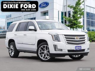 Used 2018 Cadillac Escalade Platinum for sale in Mississauga, ON