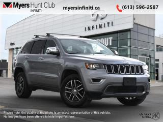Used 2017 Jeep Grand Cherokee Limited  - Leather Seats for sale in Ottawa, ON