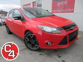 Used 2013 Ford Focus H/B AUTO MAGS AILERON BLUETOOTH for sale in St-Jérôme, QC