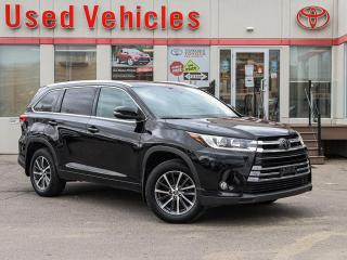 Used 2017 Toyota Highlander XLE ALLOYS SUNROOF LEATHER CAMERA NAVI 1-OWN for sale in North York, ON