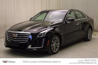 Used 2017 Cadillac CTS Sedan Luxury AWD*LEATHER* for sale in Regina, SK