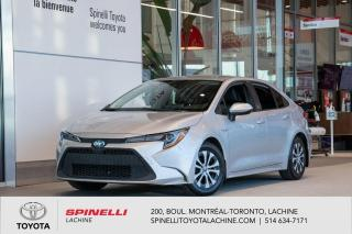 Used 2020 Toyota Corolla Hybrid GROUPE PREMIUM! CUIR! CARPLAY! for sale in Lachine, QC