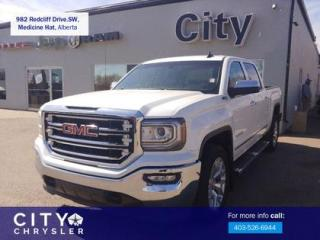 Used 2018 GMC Sierra 1500 SLT for sale in Medicine Hat, AB
