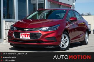 Used 2017 Chevrolet Cruze LT AUTO for sale in Chatham, ON