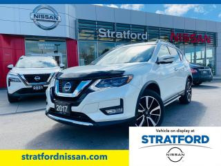 Used 2017 Nissan Rogue SL for sale in Stratford, ON