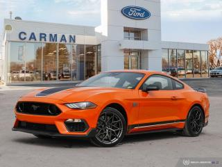 New 2021 Ford Mustang Mach 1 for sale in Carman, MB