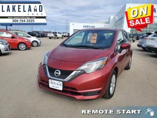 Used 2018 Nissan Versa Note - $100 B/W for sale in Prince Albert, SK