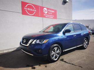 Used 2019 Nissan Pathfinder SL Premium / 4WD / Certified Pre-Owned / 7 Passenger Leather Seating for sale in Edmonton, AB