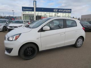 Used 2017 Mitsubishi Mirage ES/AC/POWER OPTIONS for sale in Edmonton, AB