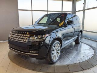 Used 2016 Land Rover Range Rover One Owner - Accident Free! for sale in Edmonton, AB