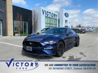 Used 2019 Ford Mustang GT Premium | 6 SPEED MANUAL | NAV| HEATED SEATS for sale in Chatham, ON