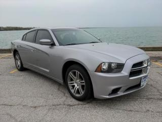 Used 2014 Dodge Charger SXT Low K's Heated Seats Sun Roof Bluetooth for sale in Belle River, ON