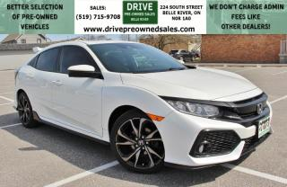 Used 2018 Honda Civic Sport Heated Seats Sun Roof Bluetooth/CarPlay Backup Cam for sale in Belle River, ON