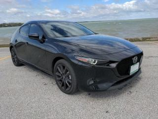 Used 2020 Mazda MAZDA3 GT Low K's Heated Leather Sun Roof Bluetooth Backup Cam for sale in Belle River, ON