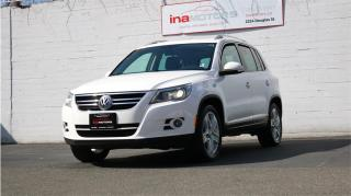 Used 2011 Volkswagen Tiguan Highline for sale in Victoria, BC