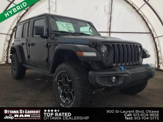 New 2021 Jeep Wrangler Unlimited 4xe Rubicon for sale in Ottawa, ON
