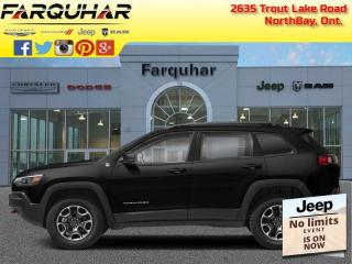 New 2021 Jeep Cherokee Trailhawk for sale in North Bay, ON
