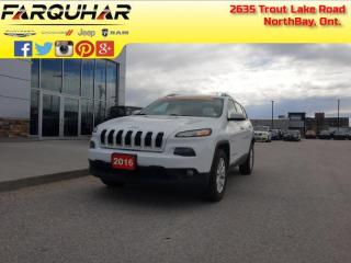 Used 2016 Jeep Cherokee North - Heated Seats - $128 B/W for sale in North Bay, ON