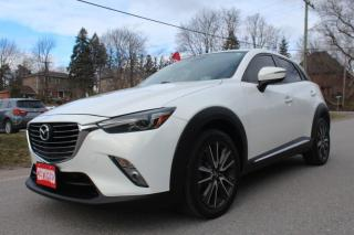 Used 2016 Mazda CX-3 GT, AWD, HUD, NAVI, REAR CAM, SUNROOF, BOSE, CERTIFIED for sale in King City, ON