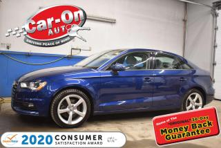 Used 2015 Audi A3 LEATHER | PANO ROOF for sale in Ottawa, ON