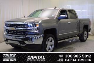 Used 2017 Chevrolet Silverado 1500 LTZ Crew Cab *LEATHER*SUNROOF* for sale in Regina, SK