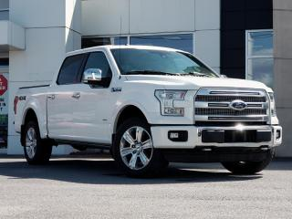 Used 2016 Ford F-150 PLATINUM for sale in Kingston, ON