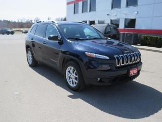Used 2016 Jeep Cherokee North with Heated Seats & steering wheel for sale in Tillsonburg, ON