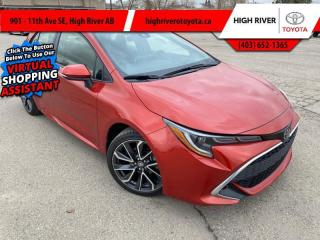 Used 2019 Toyota Corolla Hatchback XSE Package  - Navigation for sale in High River, AB
