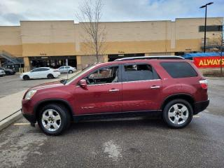 Used 2008 GMC Acadia Low km, 7 Pass, Leather, Sunroof, Warranty Availab for sale in Toronto, ON