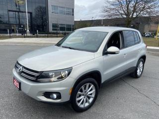 Used 2013 Volkswagen Tiguan Low km, Navigation,  Camera, Auto,  Warranty Avai for sale in Toronto, ON