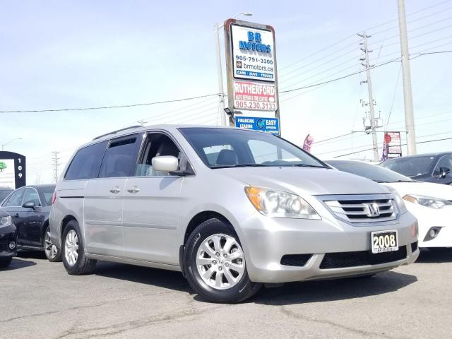 2008 Honda Odyssey No Accidents| EX-L w-RES | 8 Passenger | Certified