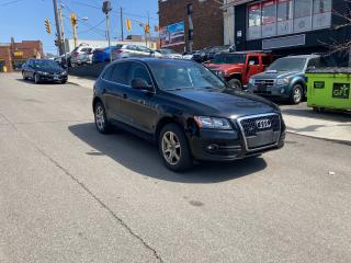 Used 2012 Audi Q5 2.0L Premium awd htdseats no accident certified for sale in Toronto, ON