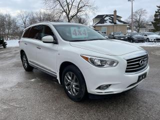 Used 2014 Infiniti QX60 AWD/3.5L/7 SEATS/NO ACCIDENT/SAFETY INCLUDED for sale in Cambridge, ON