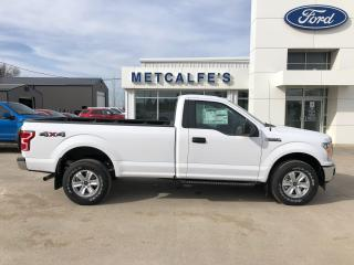 New 2020 Ford F-150 XLT 4WD REG CAB 8' BOX for sale in Treherne, MB