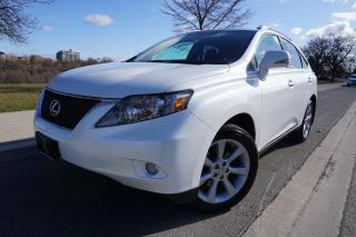 Used 2010 Lexus RX 350 NAVIGATION / NO ACCIDENTS / LOCAL / STUNNING SHAPE for sale in Etobicoke, ON