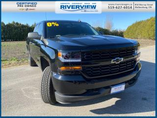 Used 2019 Chevrolet Silverado 1500 LD Silverado Custom No Accidents | Keyless Entry | Bluetooth | Trailering Package for sale in Wallaceburg, ON