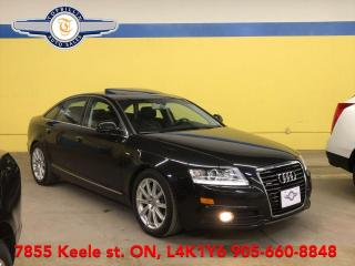 Used 2010 Audi A6 Navigation, Leather, Roof, B Cam, 2 Years Warranty for sale in Vaughan, ON