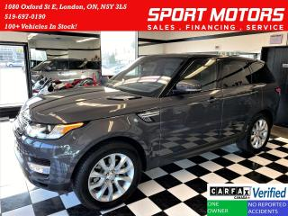Used 2017 Land Rover Range Rover Sport V6 HSE 4x4 TECH+360 CAM+ONLY 6000 KM+ACCIDENT FREE for sale in London, ON