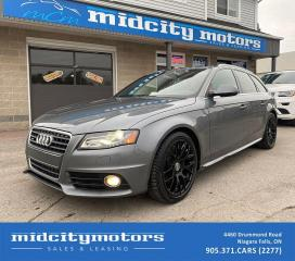 Used 2012 Audi A4 Avant S-Line 2.0T quattro Premium Plus | LOADED for sale in Niagara Falls, ON