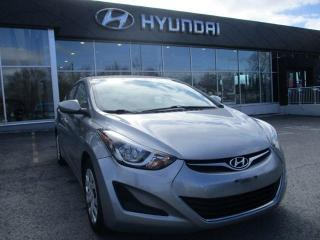 Used 2016 Hyundai Elantra GL for sale in Ottawa, ON