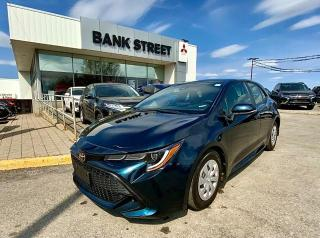 Used 2020 Toyota Corolla Hatchback Base for sale in Gloucester, ON