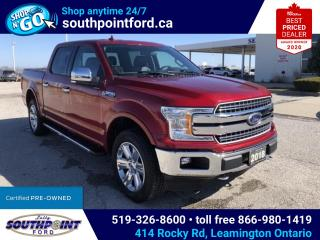 Used 2018 Ford F-150 Lariat LARIAT|4X4|NAV|HTD & COOLED SEATS|TRAILER BRAKE CONTROL for sale in Leamington, ON
