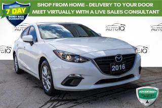 Used 2016 Mazda MAZDA3 GS MANUAL SEDAN for sale in Innisfil, ON