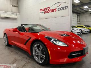 Used 2017 Chevrolet Corvette 3LT Convertible Auto NAV MEM HUD NPP for sale in St. George, ON