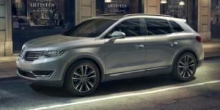 Used 2016 Lincoln MKX Reserve for sale in Forest, ON