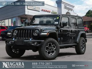 New 2021 Jeep Wrangler 4xe Unlimited Rubicon 4xe for sale in Niagara Falls, ON