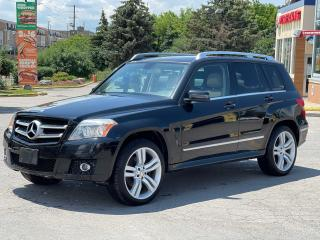 Used 2011 Mercedes-Benz GLK-Class GLK 350 AWD Panoramic Sunroof/Leather/Loaded for sale in North York, ON